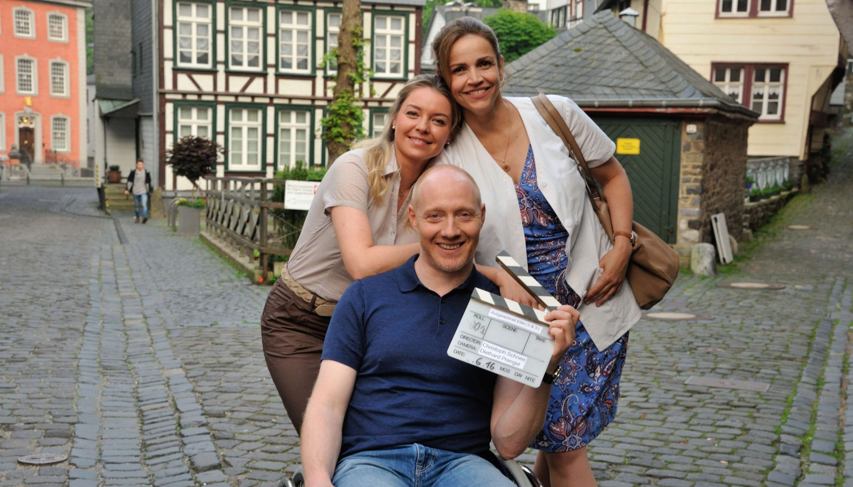 Danuta Masik (Karolina Lodyga), Chris Wegner (Simon Schwarz) und Vera Mundt (Rebecca Immanuel)